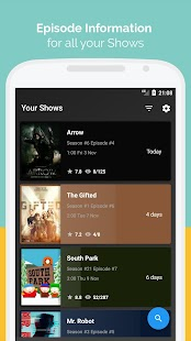 Episode Guide: TV Shows Reminder & TV Show Tracker - náhled