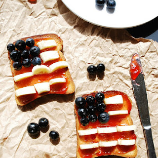 Patriotic Toast (Gluten, Dairy, Egg, Soy, Peanut, Tree Nut Free, Vegan, Top 8 Free) Recipe