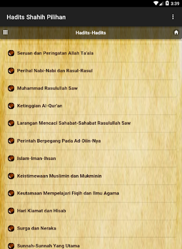 Download Kumpulan Hadits Sahih 9 Imam Google Play Softwares