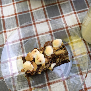Peanut Butter Cup Brownie S'Mores Recipe