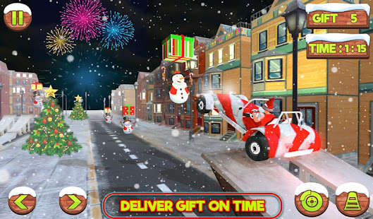 Santa Claus Stunt Car Christmas Gift Delivery for PC-Windows 7,8,10 and Mac apk screenshot 3
