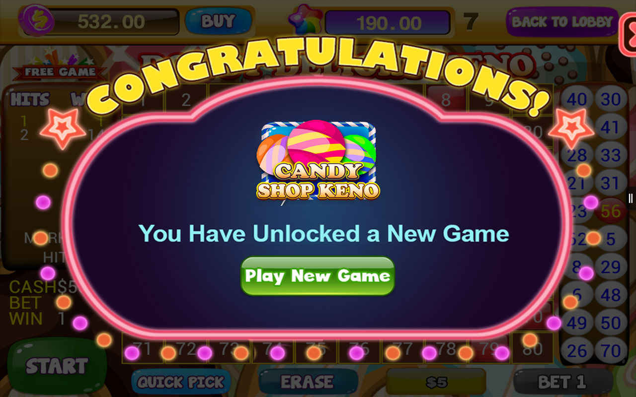 Odds of hitting 7 numbers in keno