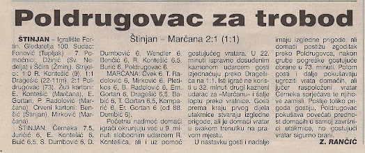 Photo: Glas Istre 5.6.2000. I ŽNL