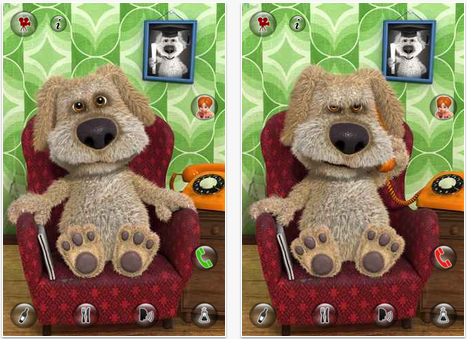 iPhone App - Ben The Talking Dog