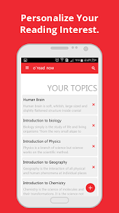 o'read - The learning App- screenshot thumbnail