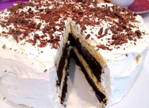 ~ Orange & Chocolate Cheesecake Cake ~