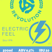 Electric Feel - Sour IPA 6.5% ABV - 500ml Bottle