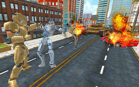 US Army Transform Robot War 8