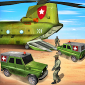 Offroad US Army Transport 3D