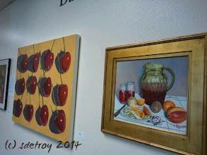 Photo: Art, art, art. Colors and interpretation. I am grateful you are in my life.