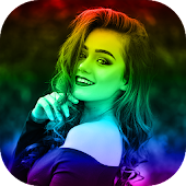 Rainbow Camera Effect Video Maker
