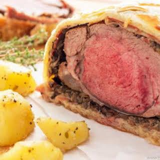 Classic Beef Wellington.