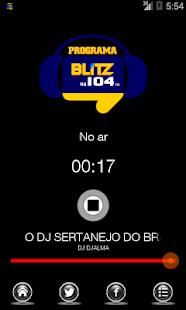 Web Rádio Blitz - náhled
