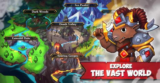 Battle Rams: Clash Of Castles ACTION RPG MOBA  captures d'écran 1