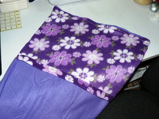 Crafty Ady: My fleece quillow tutorial