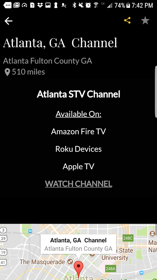 City Streaming Television App - STV Network- screenshot