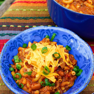 Macaroni & Cheese Chili
