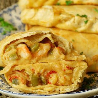 Étouffée Empanada - Shrimp and Crawfish.