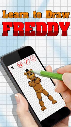 フレディを描画することを学びます