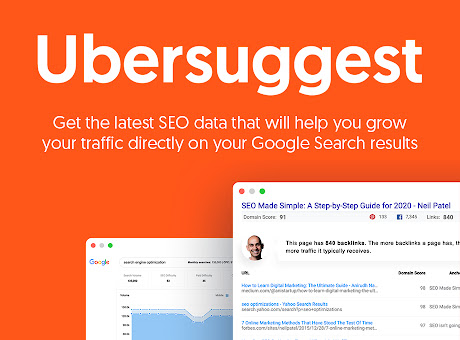 Ubersuggest - SEO and Keyword Discovery