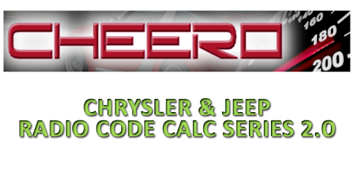 CHRYSLER & JEEP RADIO CODE CALC UCONNECT MYGIG VP4 - by Cheero08 - Auto &  Vehicles Category - 5 Reviews - AppGrooves: Get More Out of Life with  iPhone