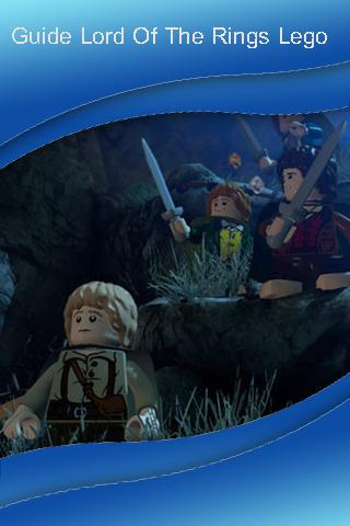 Guide Lord Of The Rings Lego