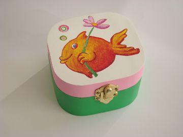 caixa peixinho