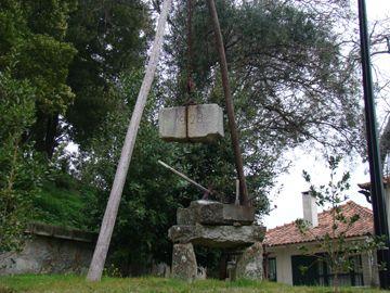 primeiras pedras da basílica
