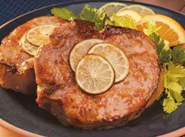 Orange Glazed Pork Chops Recipe