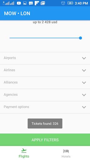 Flightzy - cheap flights & hotels search 4.1.1 screenshots 3