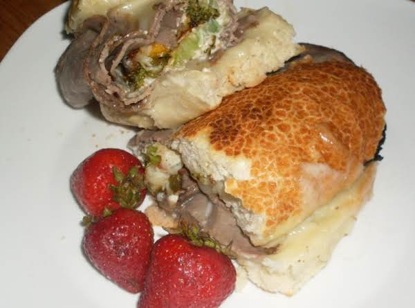 Italian Beef Broccoli Sammie Recipe