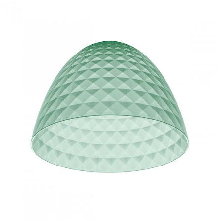 STELLA SILK S, Lampskärm, transparent eucalyptus grön