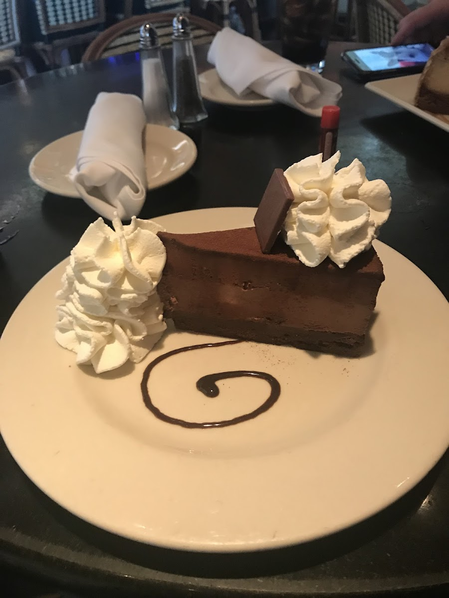 Gluten-Free at The Cheesecake Factory