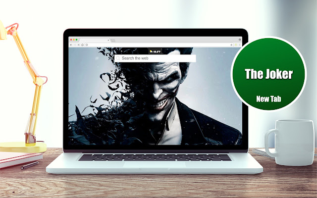 The Joker Wallpapers New Tab Theme