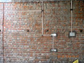Photo: FF Lounge, TV Wall Side Conduting