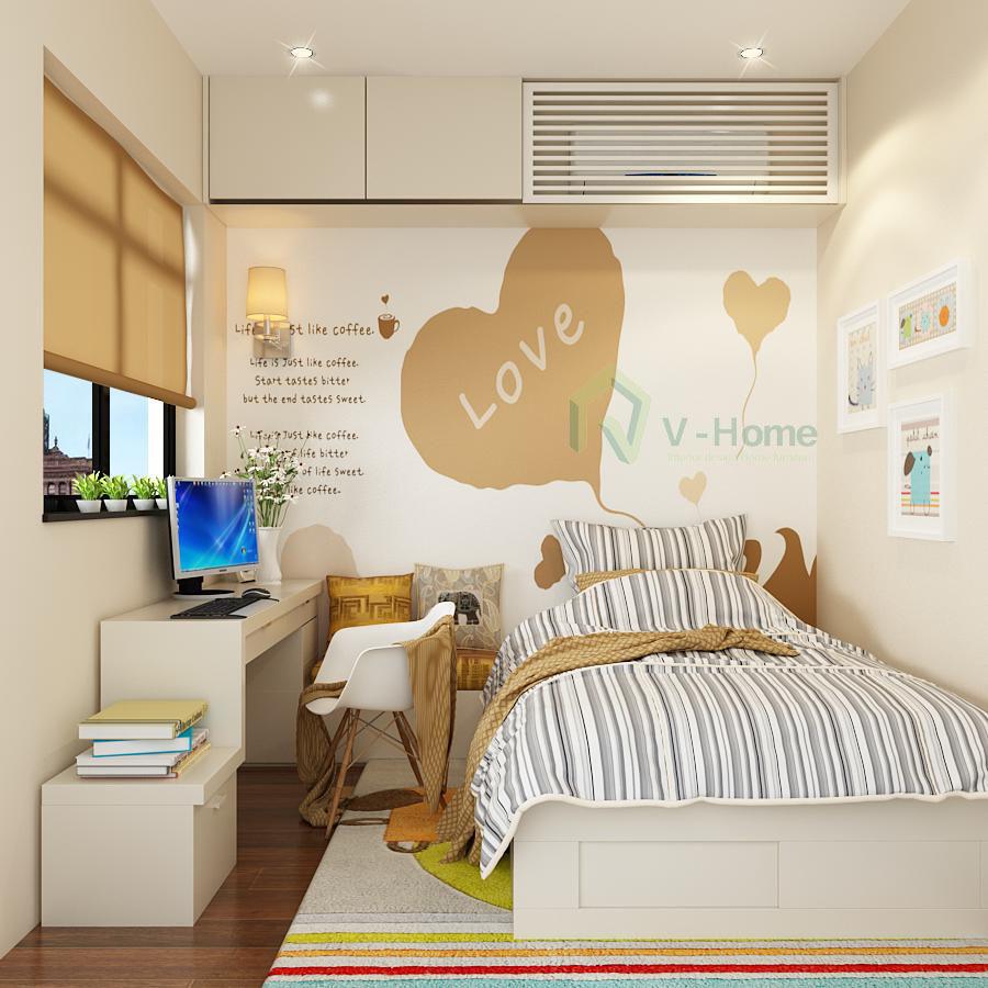 Phòng ngủ đẹp nhỏ 2