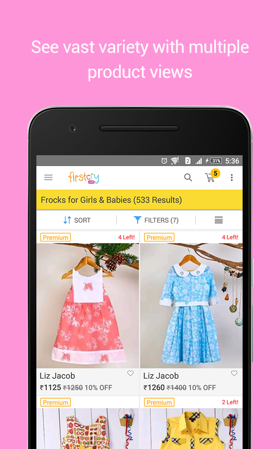 FirstCry Baby & Kids Shopping, Fashion & Parenting- screenshot