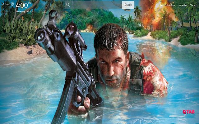 Far Cry Wallpapers Theme |GreaTab