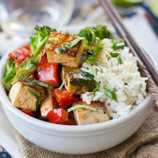 Thai Chili Basil Stir Fry Recipes
