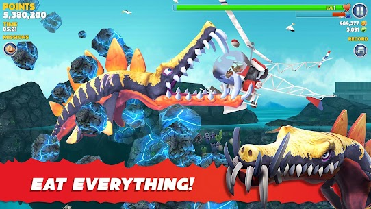 Hungry Shark Evolution Mod Apk 7.8.0 (Unlimited Money/Coins + Dimond) 6