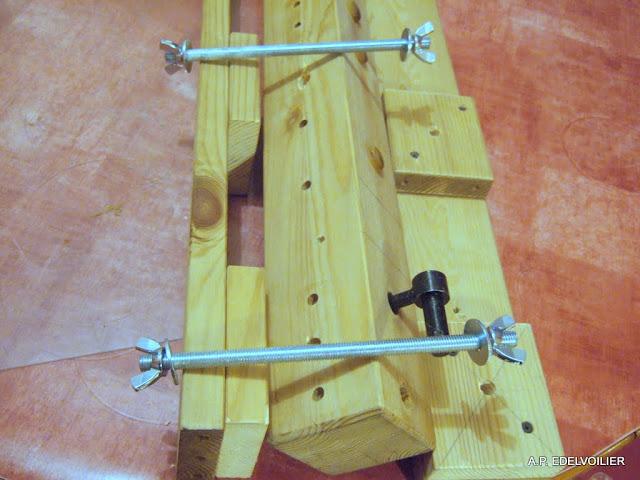 Les cales permettant d'augmenter l'écart