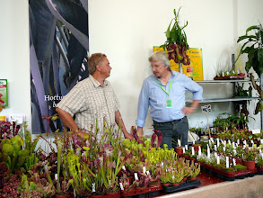 Photo: ICPS Conference in Leiden (NL) 2010. Stand of Thomas Carow (right).