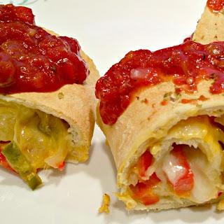 Vegan Pizza Strombolis