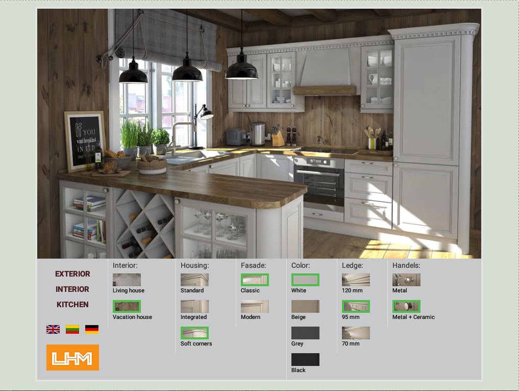 Lhm House Kitchen Configurator Android Apps On Google Play