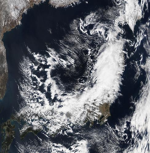 La Nasa muestra imagen de Japon antes del terremoto.