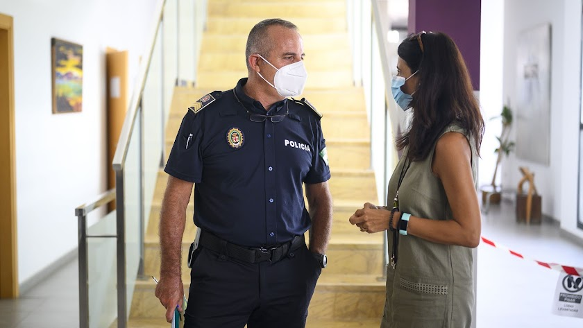 María del Mar García Lorca es concejala de Seguridad.