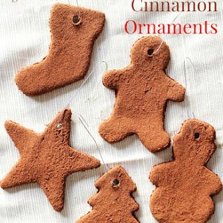 Homemade Cinnamon Ornaments Recipe