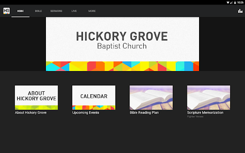 Hickory Grove Baptist Church- screenshot thumbnail