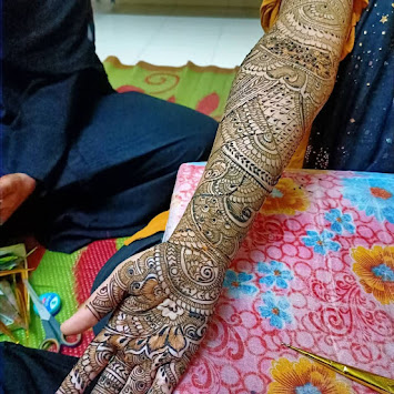 Khafif Mehndi Designs Weddings 2021