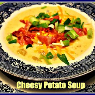 Cheesy Potato Soup...Comfort in a Bowl!.